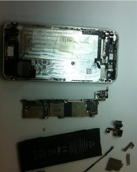 苹果iphone4手机不开机维修案例